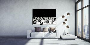 Leinwandbild / Wandbild / Abstrakt 3D / mit Holzkeilrahmen