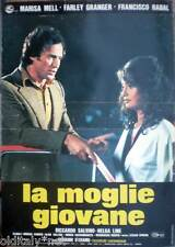 fotobusta 1975 LA MOGLIE GIOVANE-Riccardo Salvino-Helga Line-Karole-A.Collins-2