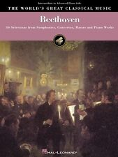 Beethoven Intermediate to Advanced Piano Solo Sheet Music 36 Selection 000220033