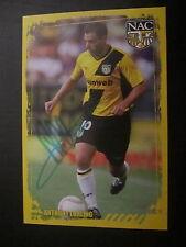 4285 Anthony Lurling NAC Breda original signierte Autogrammkarte Ausland