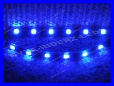 BLUE 5050 SMD LED STRIPS PAIR OF 6 INCH STRIPS FITS ALL  MERCEDES PORCHE LOTUS