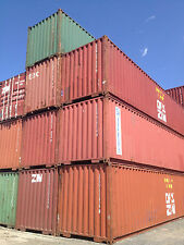 40 ft steel cargo shipping storage container El Paso TX Texas containers