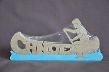Canoe Boating Wood Amish Made Toy Boat Wooden Puzzle NEW