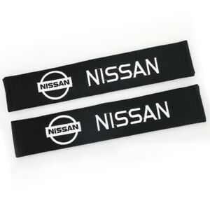 33cm Cotton Car Seat Belt Cover Shoulder Pads Protect Safety Cushion for NISSAN