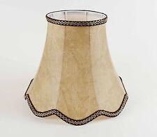 Lampenschirm Elegant Klassich aus Kunstleder Für Tisch- Stehleuchten E-27