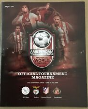 More details for amsterdam tournament 2009 official programme sunderland benfica atletico madrid