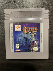 Castlevania Legends NTSC Nintendo Gameboy (Authentic, Tested) Game Only