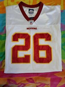 Clinton Portis Reebok Authentic NFL Washington Redskins Jersey SZ 48 NWT $230
