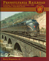 PENNSYLVANIA RAILROAD PASSENGER TRAINS, Consists & Cars, 1952 (Out of Print/NEW)