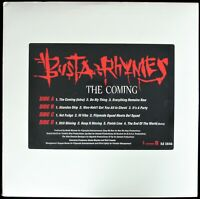 """BUSTA RHYMES """"THE COMING"""" 1996 2X VINYL LP PROMO (CLEAN) ZHANE, Q-TIP *SEALED*"""