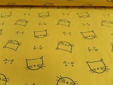 "Tela Para Niños ""CATS"" Jersey 150cm de ancho Mezcla De Algodón"
