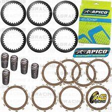 Apico Clutch Kit Steel Friction Plates & Springs For KTM SX 85 2010 Motocross