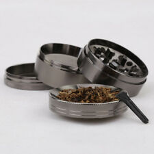 4 Piece Tobacco Herb Grinder Spice Herbal Zinc Alloy Smoke Crusher Zinc Alloy
