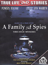 A Family of Spies, Good DVD, Gordon Clapp, Vaughn Armstrong, James Arone, Cynthi