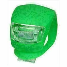 New Static Bike Cycling Frog Led Front Head Rear Light Waterproof Lamp Green