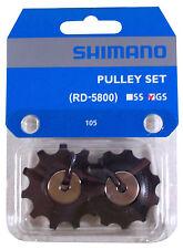 SHIMANO 105 RD-5800 GUIDE PULLEY SET GS 11 BIKE JOCKEY WHEEL TENSION GEAR SHIFT