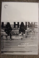LA HAINE RARE DELETED OOP DVD CRITERION COLLECTION EDITION FRENCH FILM DRAMA