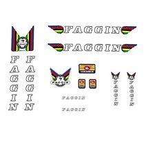 Faggin Bicycle Decals, Transfers, Stickers n.01