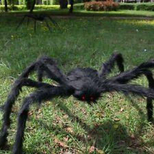 UK 5FT/150cm Black Spider Halloween Decoration Haunted House Prop Indoor Outdoor
