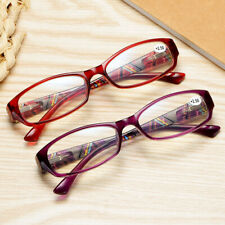 Retro spring legs anti-blue light comfortable coated box female reading glasses