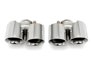 Fabspeed 991 Carrera Non-S Deluxe Quad-Style Polished Tips Non-PSE
