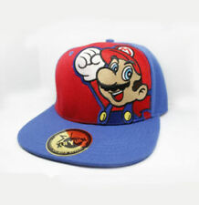 Super Mario Bros Logo Adjustable Baseball Cap Hip Hop Snapback Hat Cool Gift