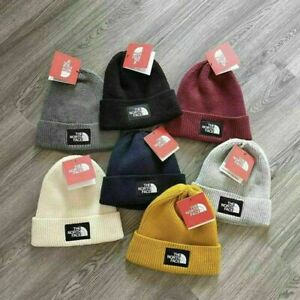 The North Face Mens / Ladies Knitted Wooly Beanie Hat Warm Ski Skull Cap 2021 AU