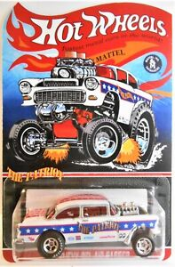 HOT WHEELS '55 CHEVY BEL AIR GASSER 'THE PATRIOT' CUSTOM