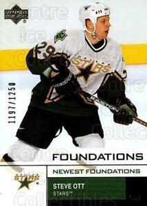 2002-03 UD Foundations #167 Steve Ott