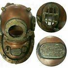 Antique Diving helmet Vintage US Navy Marine Deep Sea divers 18 inches helmet