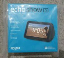 BRAND NEW SEALED Amazon ECHO SHOW 5 Alexa Black Smart Wireless Bluetooth Speaker
