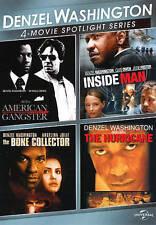 NEW - Denzel Washington 4-Movie Spotlight Series