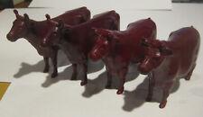 TONKA 1957 COWS ( 4) from TONKA FARMS HIGH STAKE TRUCK SET