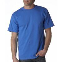 Fruit Of The Loom mens t shirt tee top S-XXL heavyweight  cotton crew plain