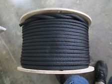 "3/4"" X 100' Anchor,Dock Line,Polyester Double braid Black 17400 lb ,USA REDUCED!"