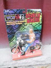MIP Lucha Libre WCW/NWO Brawlin ' Bikers Goldberg Figura & Moto Juguete BIZ