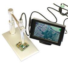 "200X Digital Microscope Endoscope AV Video TV Camera & 4.3"" LCD Monitor Display"