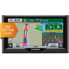 "Garmin nuvi 67LM 6"" GPS w/ United States Lifetime Maps 010-01399-01"