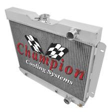 3 Row Western Champion Radiator for 1962 1963 1964 1965 Chevrolet Nova