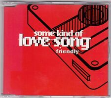 Friendly - Some kind of love song - CD (SILV001 Silvertone 5 x Track 1999)