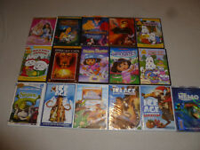 KIDS DVD LOT MOVIE LAND BEFORE TIME EASTER MAX & RUBY ICE AGE DORA SHREK NEMO >>