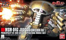 Bandai HGUC 139 GUNDAM MSM-04G Juaggu (Unicorn Ver.) 1/144 scale kit