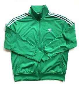 adidas Primeblue FIREBIRD TT Green Track Jacket Men's Size XL GN3512