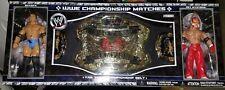 WWE TAG TEAM CHAMPIONSHIP BELT W/ BATISTA & REY MYSTERIO JAKKS