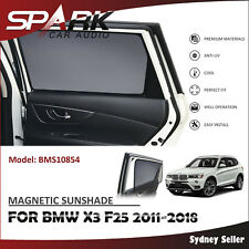 CT MAGNETIC CAR WINDOW SUN SHADE BLIND MESH REAR DOOR FOR BMW X3 F25 2011-2018