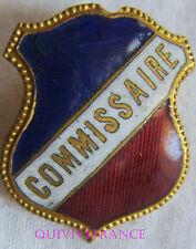 BG6979 - INSIGNE BADGE TRICOLORE - COMMISSAIRE