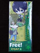 Free! Iwatobi Swim Club Strap Key Chain Movic Haruka Nanase Makoto Tachibana New