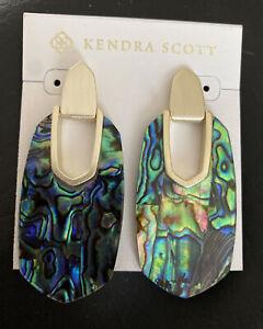 New Kendra Scott Kailyn Abalone Earrings $98.00