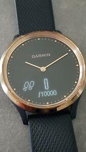 GARMIN Vivomove HR | rosegold / schwarz | Armbanduhr Smartwatch Pulsuhr Uhr TOP!