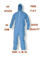 PPE Anti-Virus Protective Overalls Suit Reusable zippered Coveralls Isolation